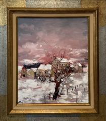 La neige sur le hameaux