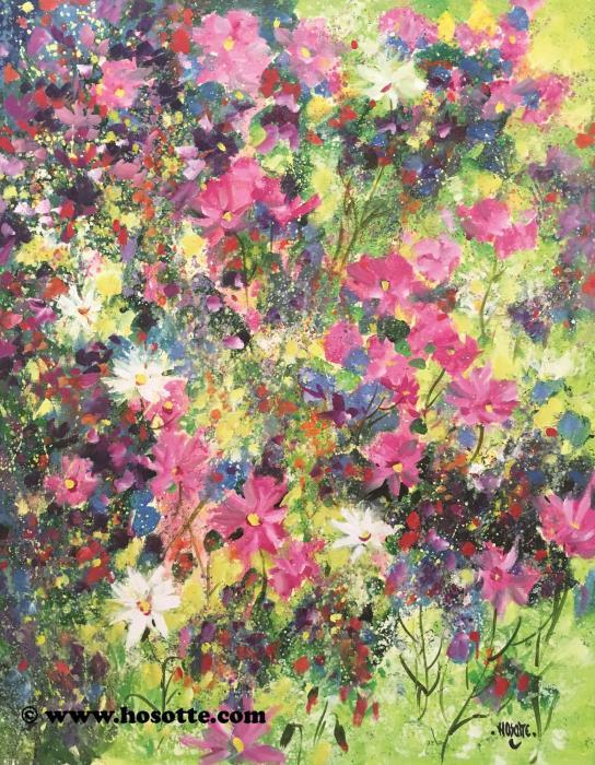Quelques fleurs sur le chemin