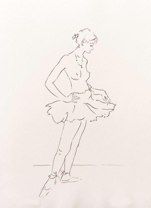 La danseuse au tutu