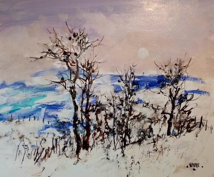 Neige à Fontette