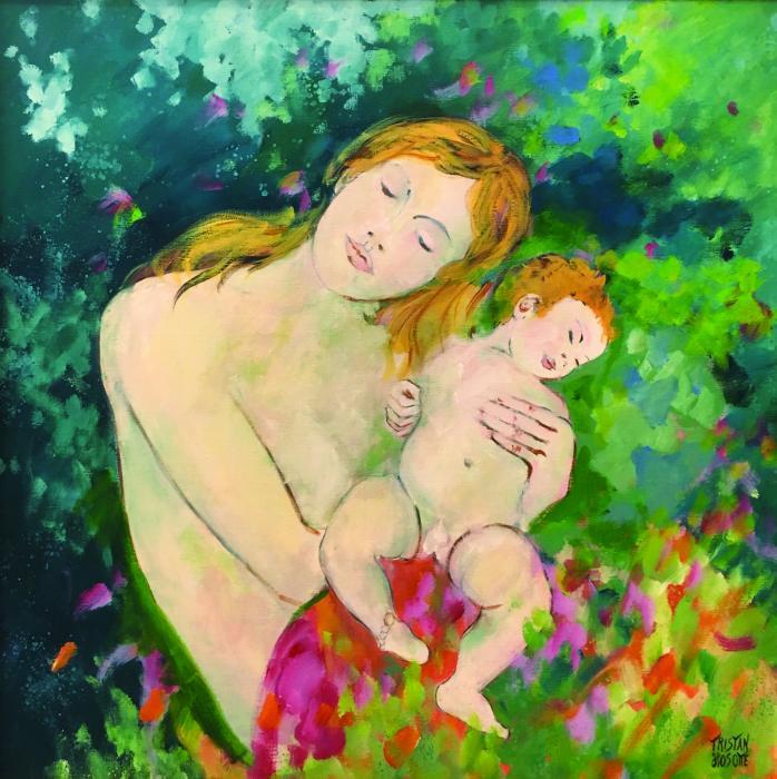 """Tristan Hosotte """"Maternité"""""""