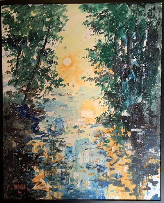 La rivière ombragée