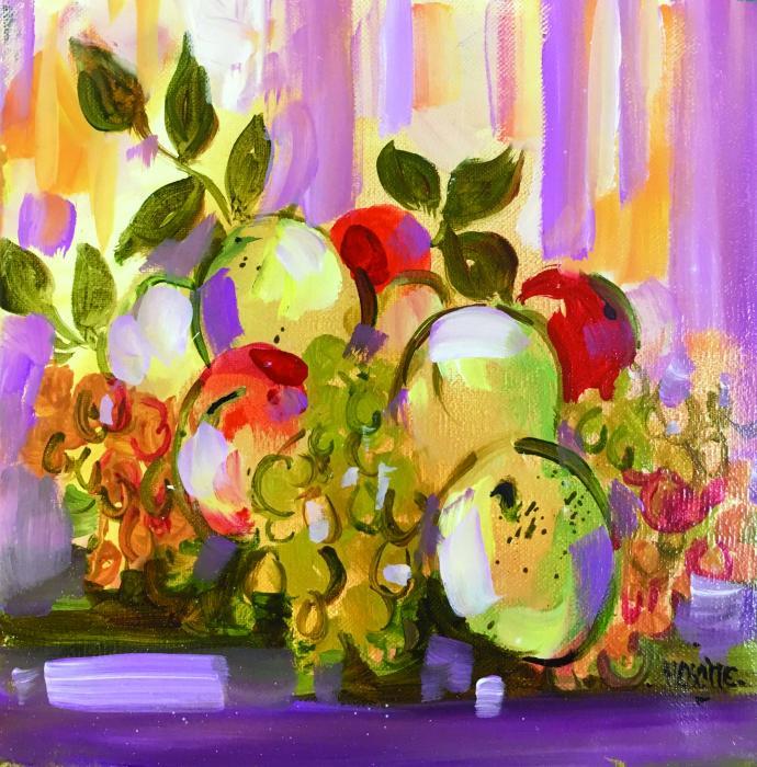 Nature morte aux pommes